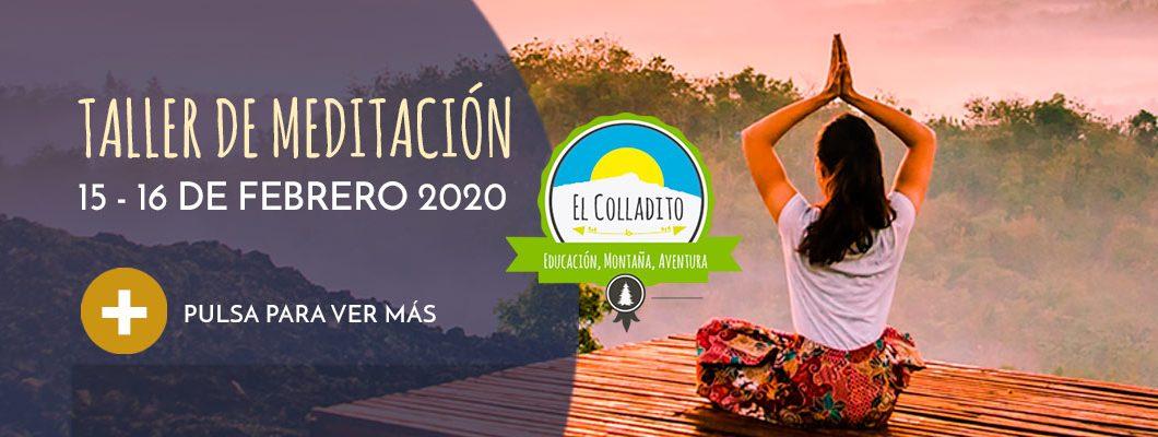 Taller Meditación Febrero 2020 Sierra de Madrid